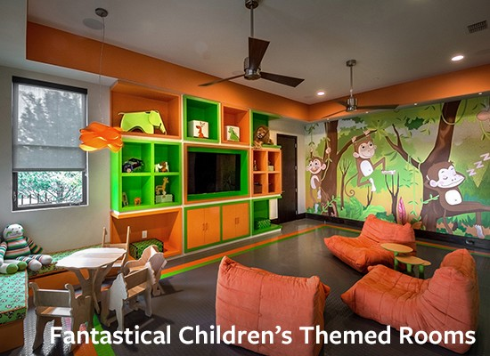 Fantastical Children's Themed Rooms
