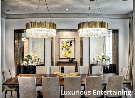 Luxurious Entertaining