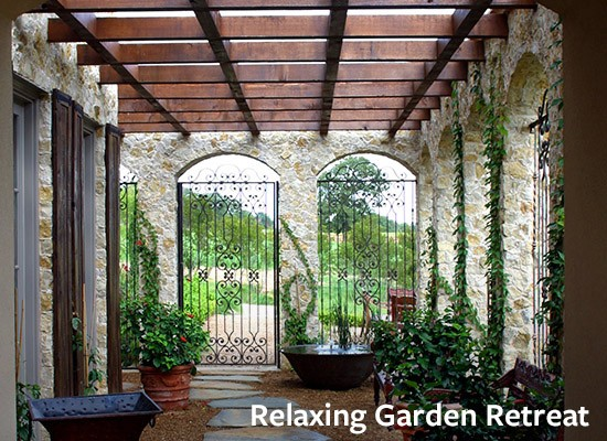 Relaxing Garden Retreat