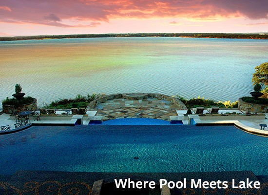 Where Pool Meets Lake