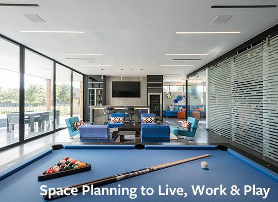 Space Planning to Live, Work & Play
